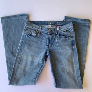7 For All Mankind Lexie Jeans, size 28